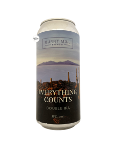 Bière Everything Counts NE DIPA 44 cl Brasserie Burnt Mill Brewery