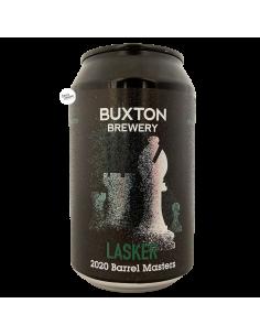 Bière Lasker 2020 Bourbon BA Imperial Stout 33 cl Brasserie Buxton Brewery