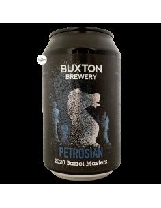 Bière Petrosian 2020 Scotch BA Imperial Stout 33 cl Brasserie Buxton Brewery