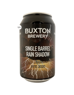 Bière Single Barrel Rain Shadow Rye 2020 Imperial Stout 33 cl Brasserie Buxton Brewery