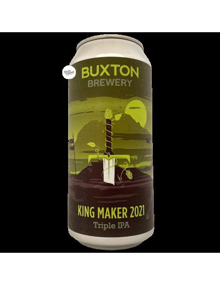Bière King Maker 2021 Triple IPA 44 cl Brasserie Buxton Brewery