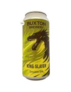 Bière King Slayer NE DIPA 44 cl Brasserie Buxton Brewery