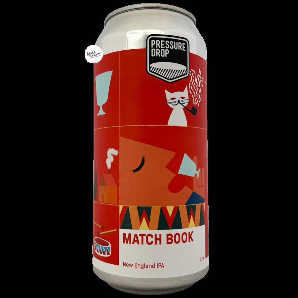 Bière Match Book NEIPA 44 cl Brasserie Pressure Drop Brewing