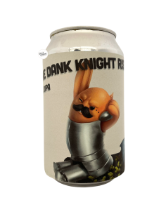 Bière The Dank Knight Rises Double IPA 33 cl Brasserie Lobik