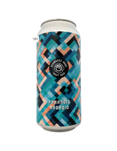 Bière Paranoid Android West Coast IPA 44 cl Brasserie Schwarze Rose Brewery
