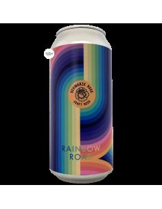 Bière Rainbow Road Oatcream Kveik IPA 44 cl Brasserie Schwarze Rose Brewery