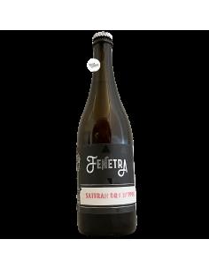 Bière Sattran Dry Hopped Farmhouse Ale 75 cl Brasserie Fenetra