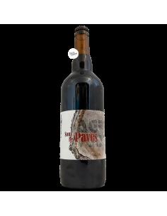 Bière Sous les Pavés Stout 75 cl Brasserie L'Agrivoise