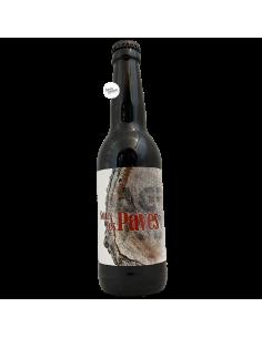 Bière Sous les Pavés Stout 33 cl Brasserie L'Agrivoise