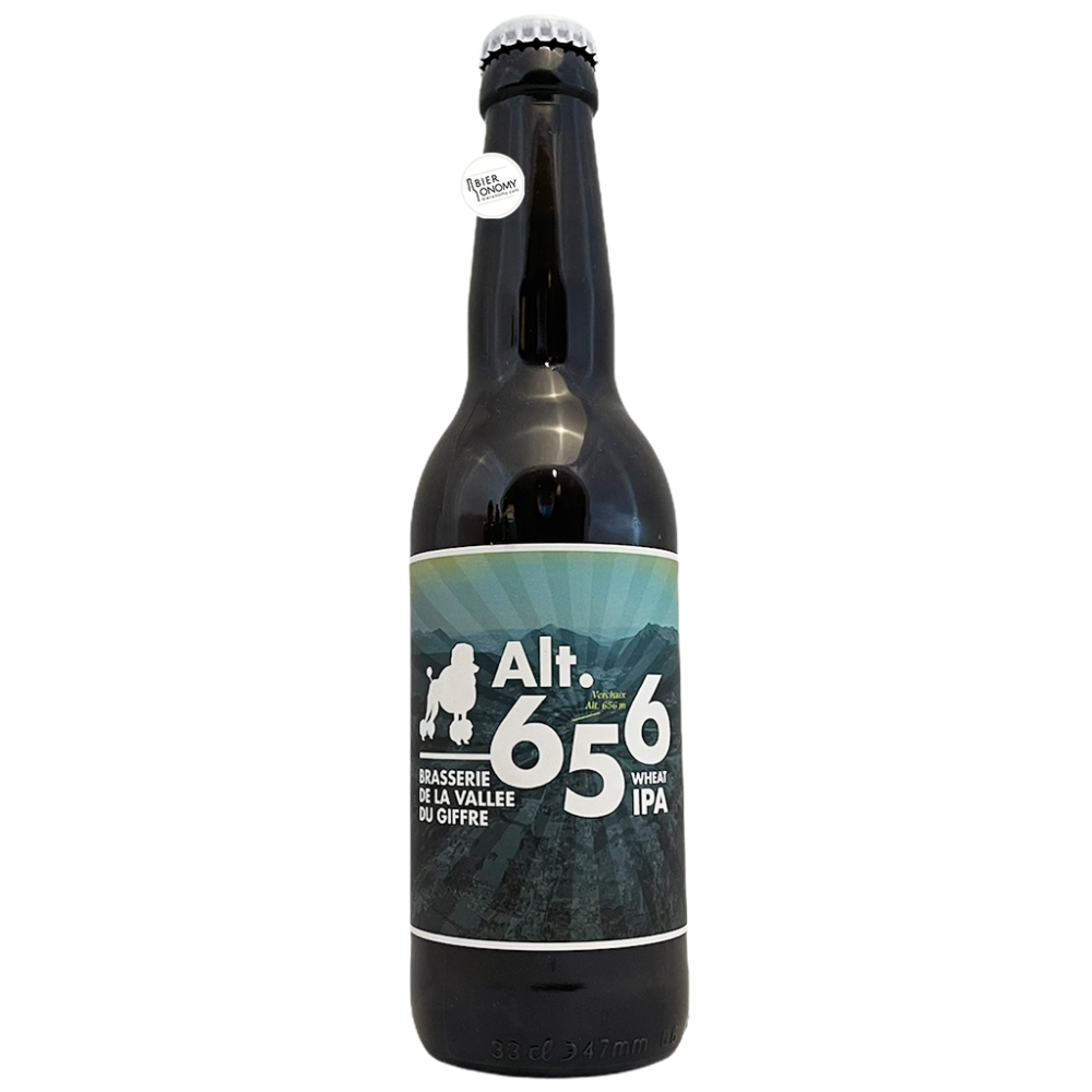 Bière Alt. 656 Wheat IPA 33 cl Brasserie de la Vallée du Giffre