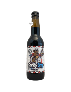 Bière Candy Shop Nut & Coconut Cake 33 cl Brasserie Deer Bear