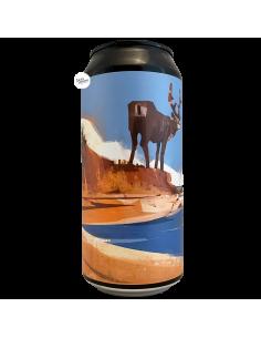 Bière D La Réponse D Dark IPA 44 cl Brasserie La P'tite Maiz' La Dilettante
