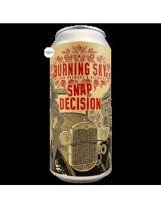 Bière Snap Decision American Brown Ale 44 cl Brasserie Burning Sky