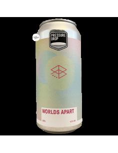 Bière Worlds Apart NE DIPA 44 cl Brasserie Pressure Drop Range Brewing