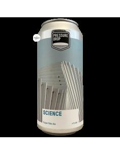 Bière Science Super NZ Pale Ale 44 cl Brasserie Pressure Drop