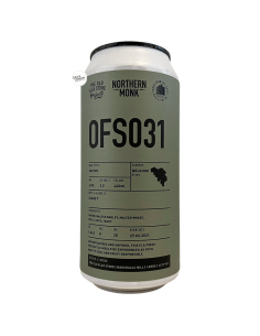 Bière OFS031 Saison 44 cl Brasserie Northern Monk