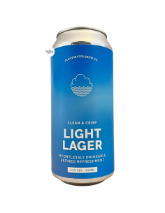 Bière Light Lager 44 cl Brasserie Cloudwater