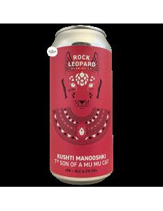 Bière Kushti Manooshki 7th Son Of A Mu Mu Cat IPA 44 cl Brasserie Rock Leopard