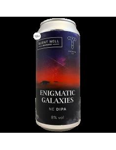 Bière Enigmatic Galaxies NE DIPA 44 cl Brasserie Burnt Mill Track