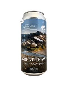 Bière Great Thaw West Coast DIPA 44 cl Brasserie Burnt Mill Lost and Grounded