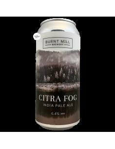 Bière Citra Fog IPA 44 cl Brasserie Burnt Mill