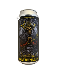 Bière Matriphagy Ghost 961 Hazy Imperial IPA 47,3 cl Brasserie Adroit Theory