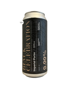 Bière BLVCK Celebration Ghost 944 Imperial Porter 47,3 cl Brasserie Adroit Theory
