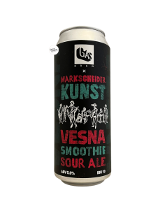 Bière VESNA Smoothie Sour Ale 50 cl Brasserie GAS Brew