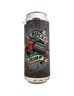 Bière Rocket Jump IPA 50 cl Brasserie Selfmade