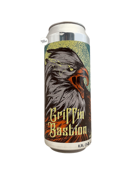 Bière Griffin Bastion NZ Cold IPA IPL 50 cl Brasserie Selfmade