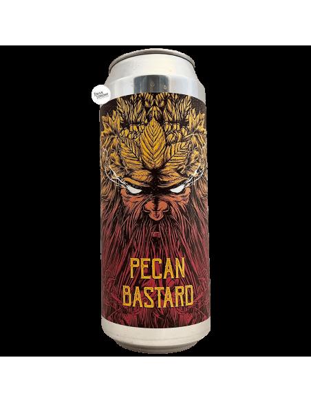 Bière Pecan Bastard Nut Double Stout 50 cl Brasserie Selfmade