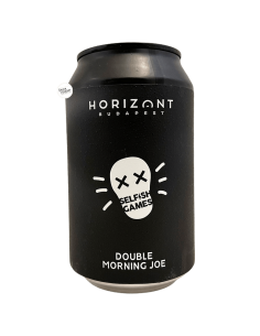 Bière Selfish Games Double Morning Joe Imperial Stout 33 cl Brasserie Horizont