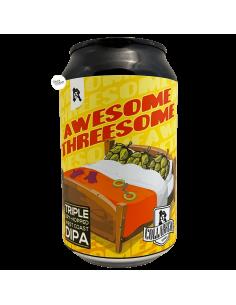 Bière Awesome Threesome TDH DIPA 33 cl Brasserie Horizont Reczer Ser