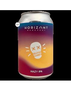 Bière Selfish Games Hazy IPA 33 cl Brasserie Horizont