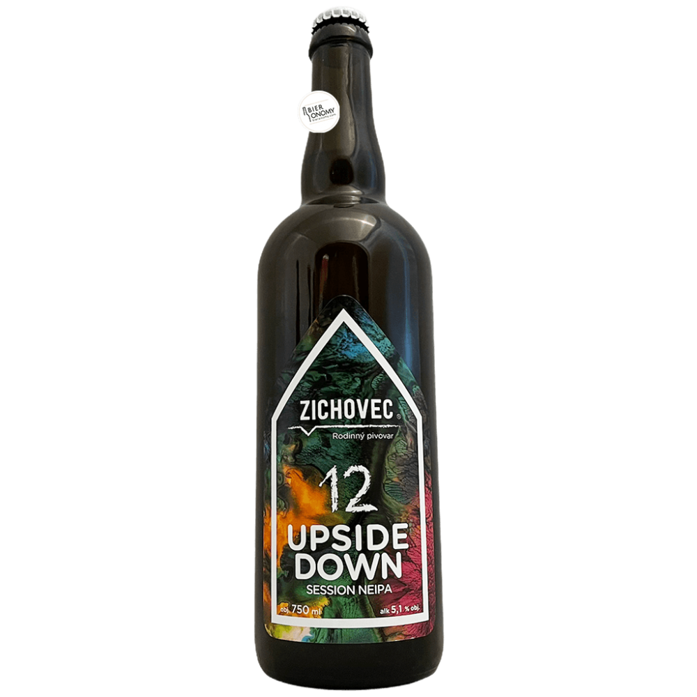 Bière Upside Down Session NEIPA 75 cl Brasserie Zichovec