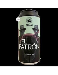 Bière El Patrón DIPA 44 cl Brasserie Bierol