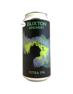 Bière Citra IPA LupulusX 44 cl Brasserie Buxton Brewery