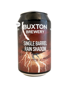 Bière Single Barrel Rain Shadow Scotch 2020 Imperial Stout 33 cl Brasserie Buxton Brewery