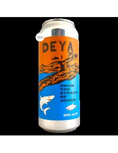 Bière Swam the Straits of Johor NE DIPA 50 cl Brasserie DEYA Brewery