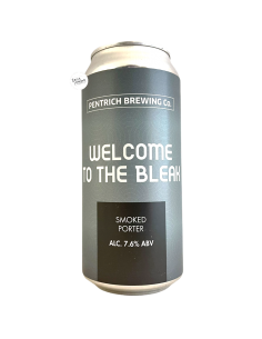 Bière Welcome To the Bleak Smoked Porter 44 cl Brasserie Pentrich
