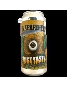 Bière Just Tasty DIP HOPPED NE IPA 44 cl Brasserie Naparbier
