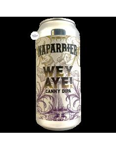Bière WEY AYE! CANNY DIPA 44 cl Brasserie Naparbier x Alpha Delta