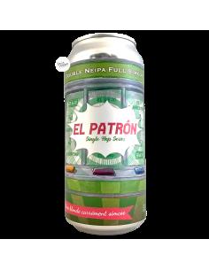 Bière El Patrón Double NEIPA 44 cl Brasserie Piggy Brewing
