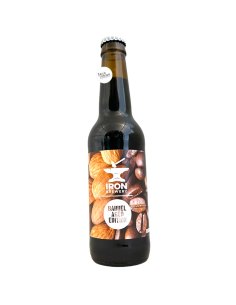 Bière Almond & Coffee Imperial Stout BA 33 cl Brasserie Iron