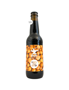 Bière Hazelnut Imperial Stout BA 33 cl Brasserie Iron