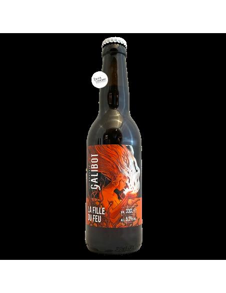 Bière La Fille Du Feu Rauchbier 33 cl Brasserie Galibot