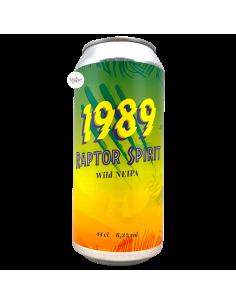 Bière Raptor Spirit Wild NEIPA 44 cl Brasserie 1989 Brewing