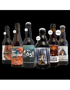 Box In France We Trust - 6 bières artisanales françaises Bieronomy