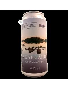 Bière Skärgård West Coast IPA 44 cl Brasserie Burnt Mill Dugges