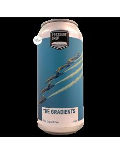 Bière The Gradients NE Pale Ale 44 cl Brasserie Pressure Drop